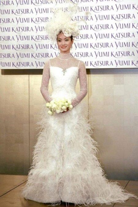 Свадебное платье от Гинзы Танаки