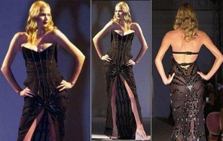 Черное свадебное платье от Марии Грахфогель