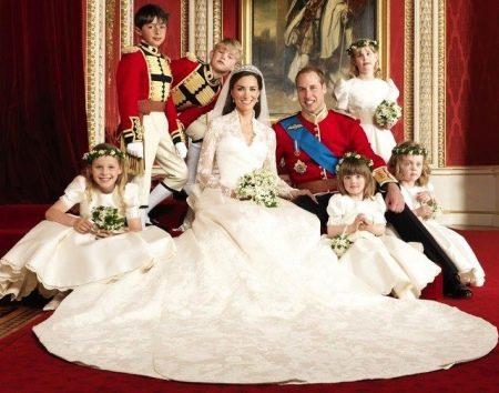 Свадебное платье принцессы Кейт Мидлтон