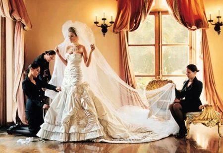 Свадебное платье Мелани Трамп