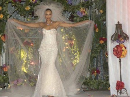 Свадебное платье от Рене штраус
