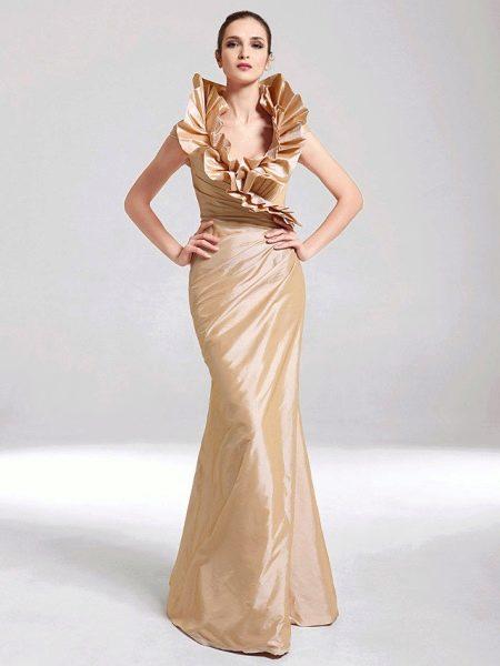 Платье атлас и кружево сшить