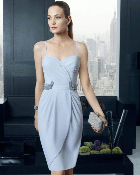 Вечернее платье от Роза Клары с запахом