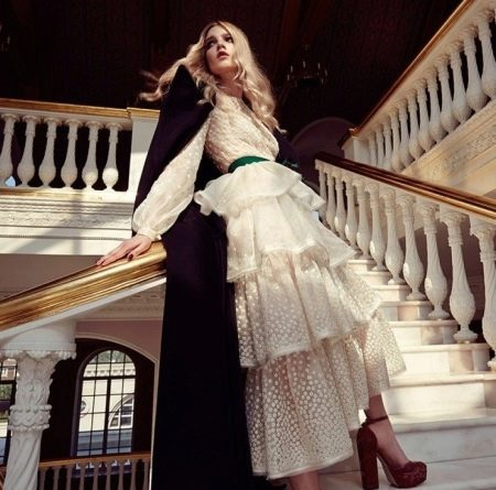 Вечернее платье белое для дня рождения