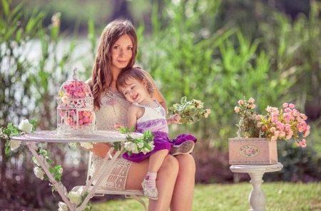 Фотосессия мамы и ребенка