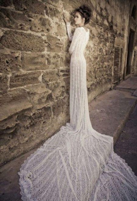 Свадебное платье от Лиз Мартинес