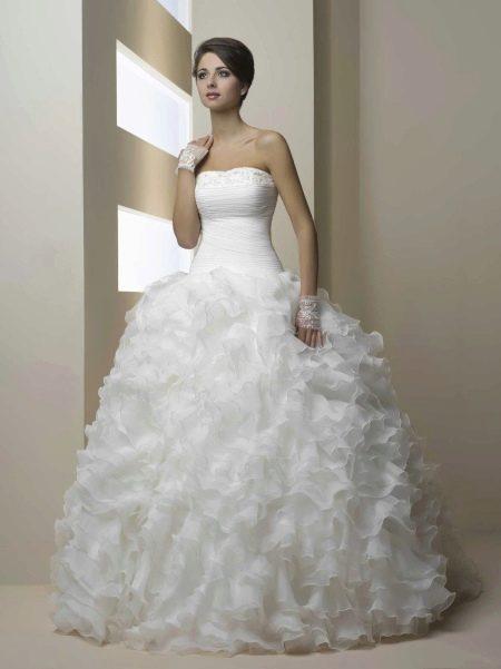 Пышное свадебное платье из коллекции Голд от Хадасса