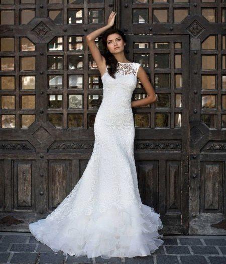 Свадебное платье из коллекции Brilliant от Hadassa закрытое