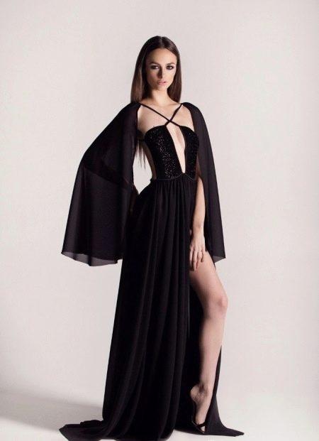 Сексуальное платье вечернее с болеро