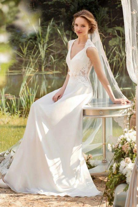 Свадебное платье из коллекции «Sole Mio» ампир
