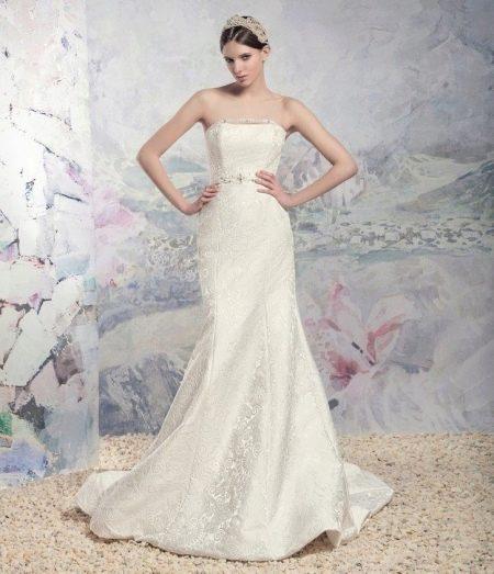 Свадебное платье из коллекции «Царевна Лебедь»