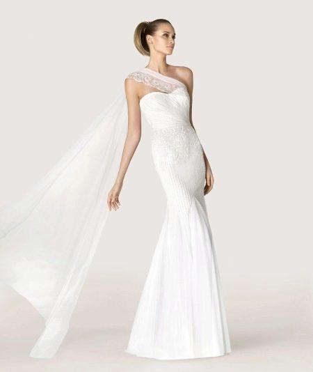 Свадебное платье в греческом стиле от Проновиас