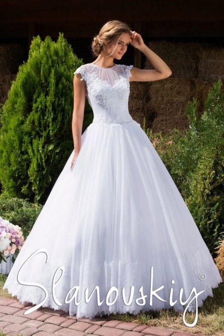 Свадебное платье от Слановски