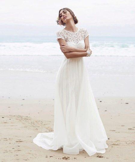 Свадебное платье в винтажном стиле от Анны Кемпбелл