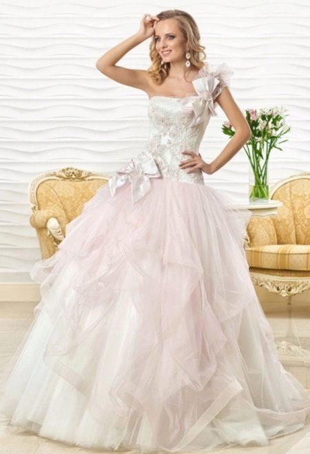 Цветное свадебное платье от Оксаны Мухи