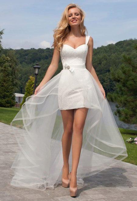 Свадебное платье-трансформер от Оксаны Мухи