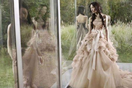 Платье свадебное от Веры Вонг