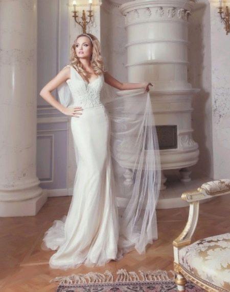 Свадебное платье от Ange Etoiles прямое