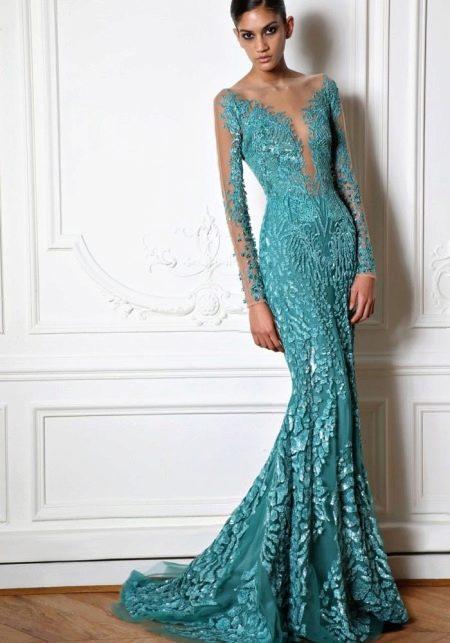Потрясающе красивое платье от Зухаира Мурада
