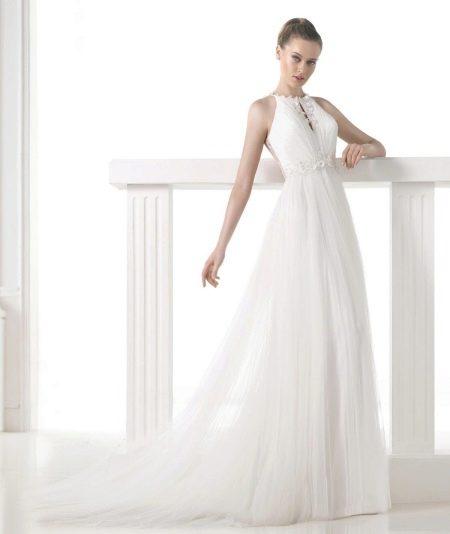 Платье свадебное от проновиас прямое