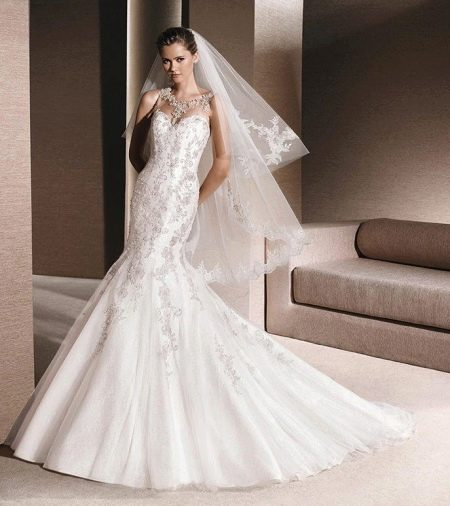 Свадебное платье от La Sposa русалка