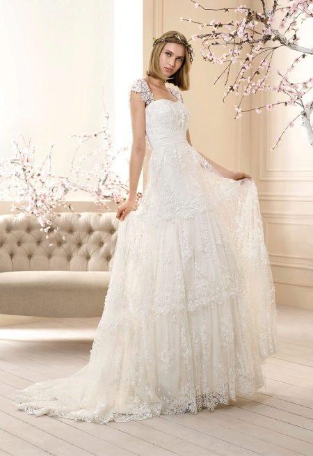 Свадебное платье от Cabotine в стиле бохо