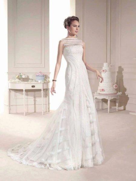 Свадебное платье от Novia D Art кружевное