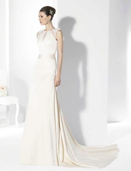 Свадебное платье от Franc Sarabia прямое