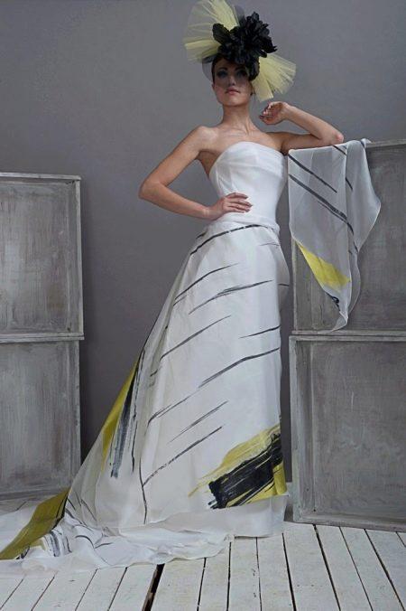Свадебное платье от Morbar цветное