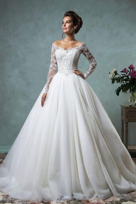 Свадебное платье от Amelia Sposa