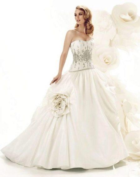 Свадебные корсет и юбка
