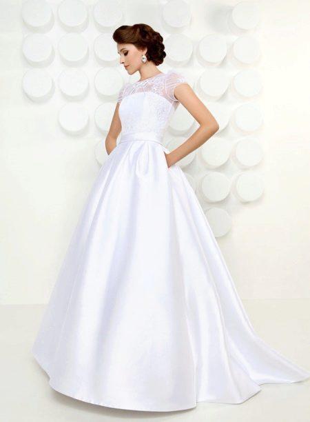 Пышное свадебное платье из коллекции Океан желаний