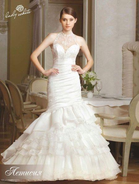 Свадебное платье из коллекции Мелодия любви от Lady White русалка