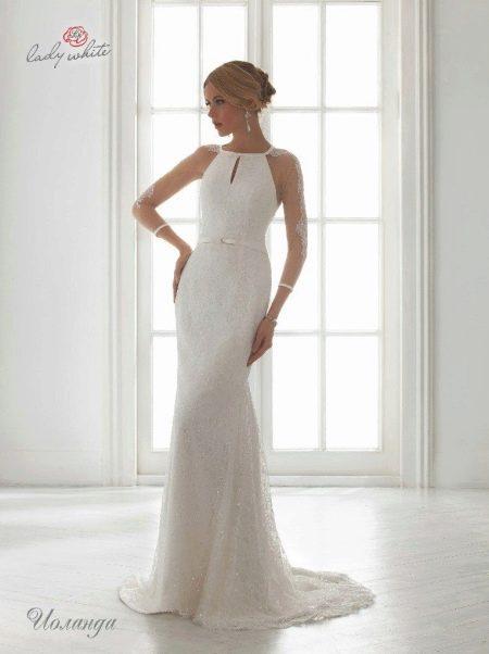 Свадебное платье из коллекции Universe от Lady White с американской проймой