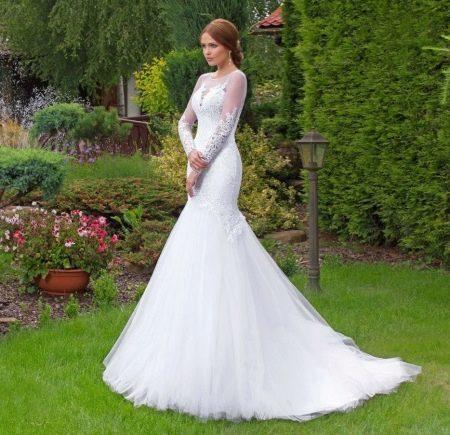 Свадебное платье от Lady White закрытое