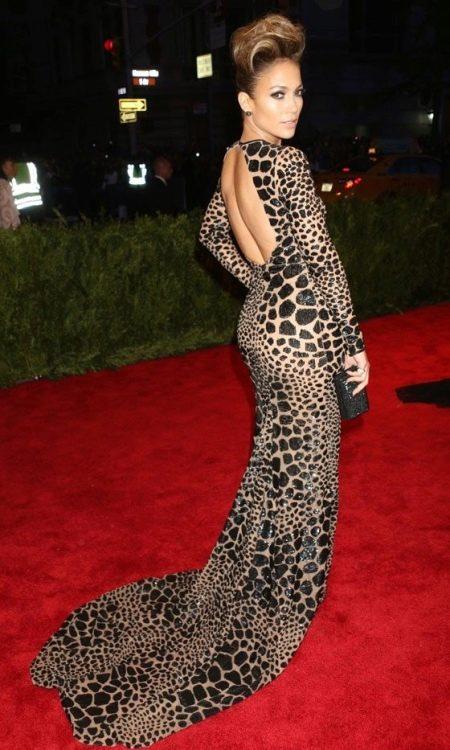 Леопардовое длинное платье в пол