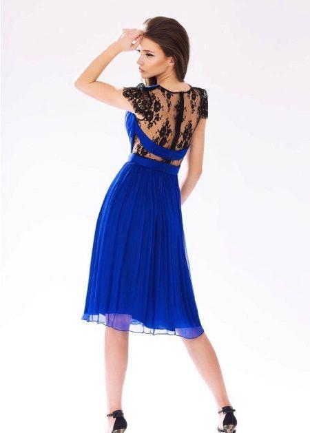 Короткое платье из шифона