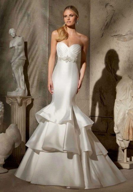 Свадебное платье русалка из коллекции Мори Ли