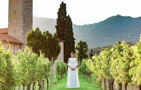 Свадебное платье от бренда Тулипия