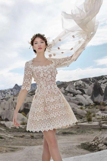 Свадебное платье от Tulipia короткое