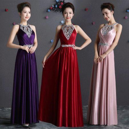 Вечерние наряды из Китая