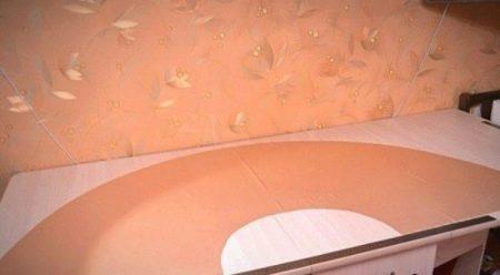 Выкроеная юбка-полусолнце