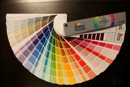 Цветовой веер - оттенки цветовой гаммы