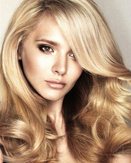 Блонд с медовым оттенком