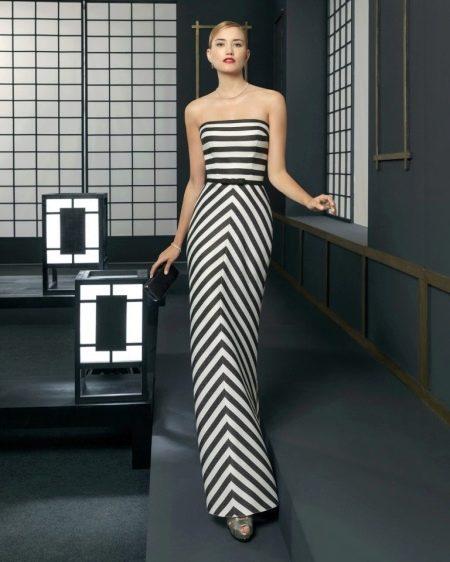 Платье двухцветное от Роза Клара