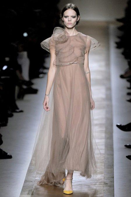 Платье из органзы от Валентино