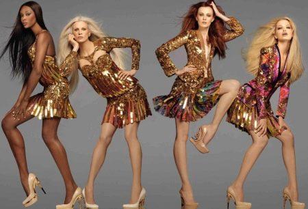 Платья в стиле диско