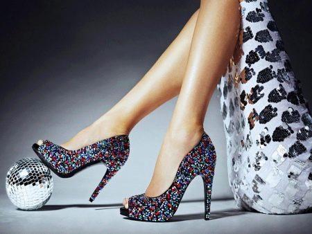 Обувь в стиле диско