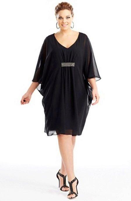 Короткое греческое платье большого размера