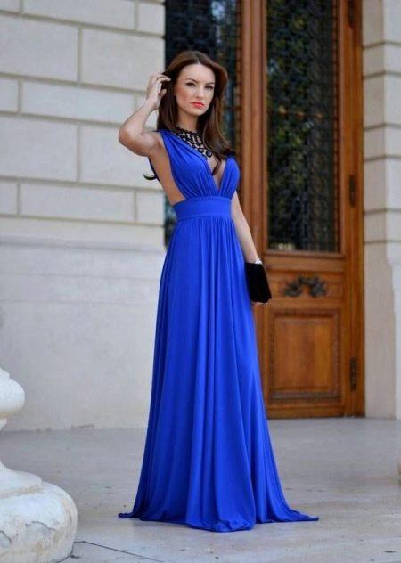 К чему снится синее платье в пол